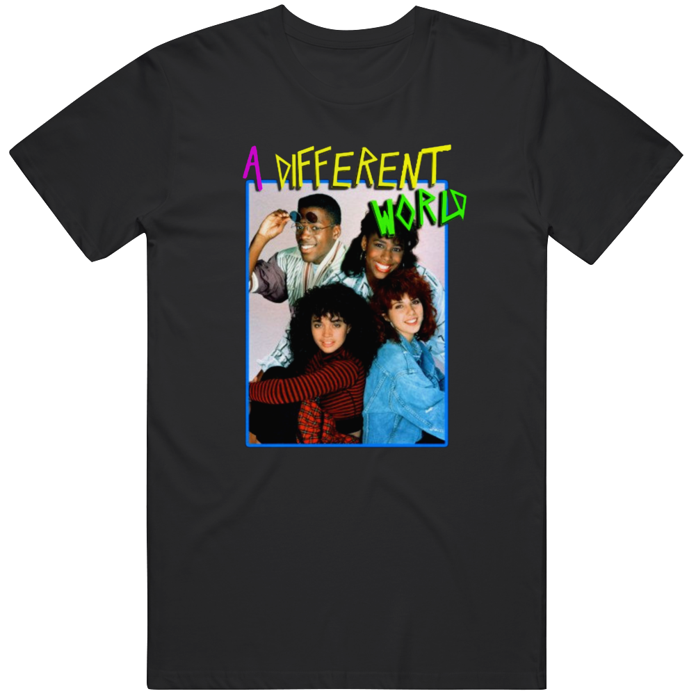 A Different World Retro 80s 90s Television Show  T Shirt