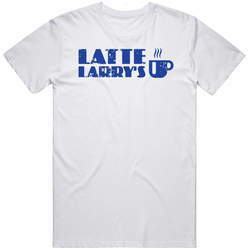 Latte Larry's Curb Your Enthusiasm Distressed T Shirt