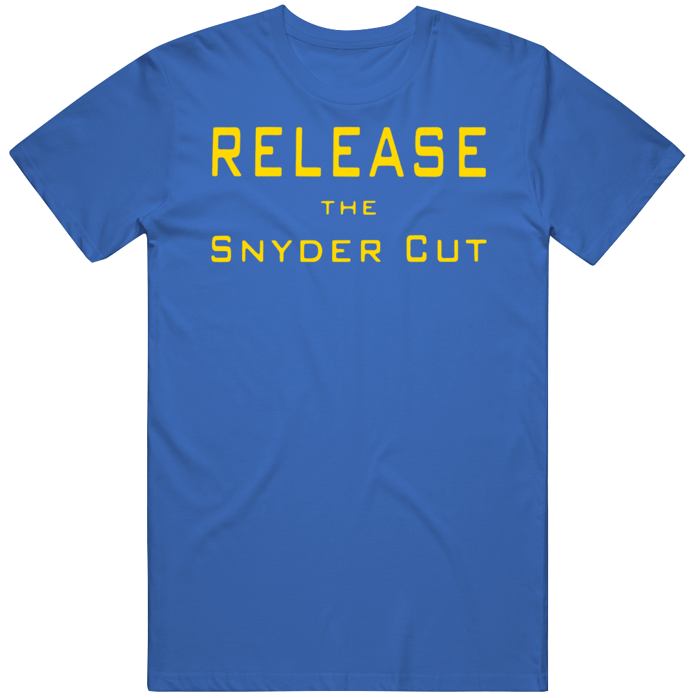 Release The Snyder Cut  As Seen on Harley Quinn TV Show Fan  T Shirt