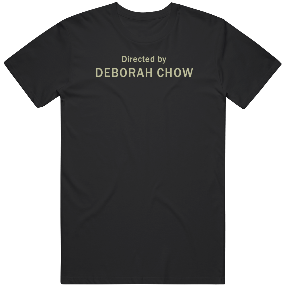 Directed By Deborah Chow Mandalorian Star Wars Fan   T Shirt