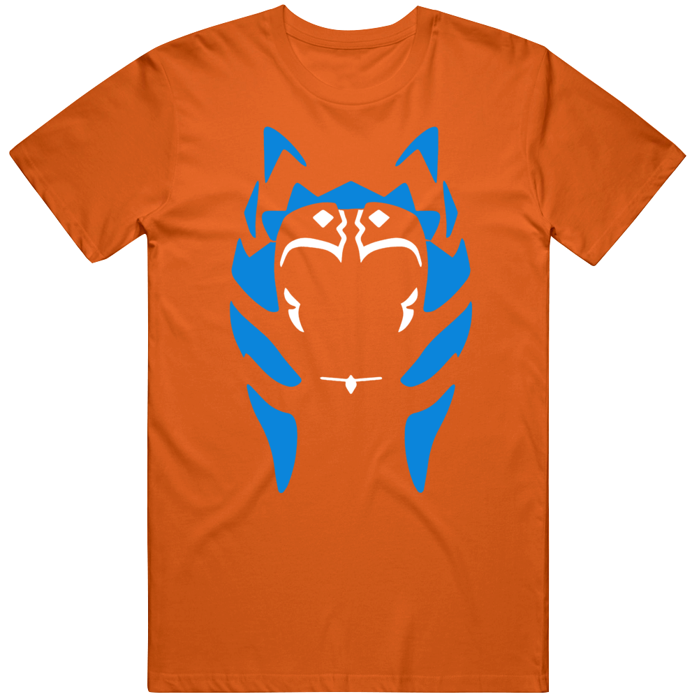 Ahsoka Tano Silhouette Clone Wars Fan  T Shirt