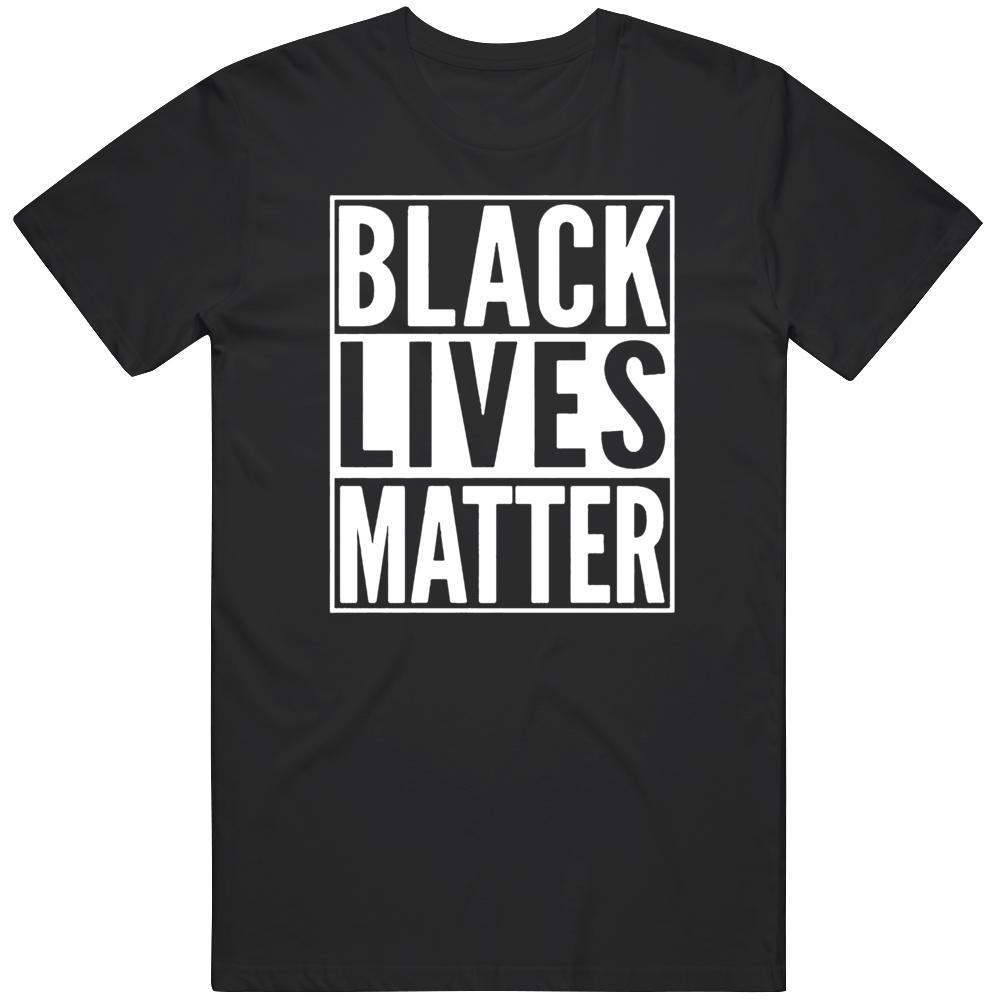Black Lives Matter George Floyd Support Black Lives  T Shirt