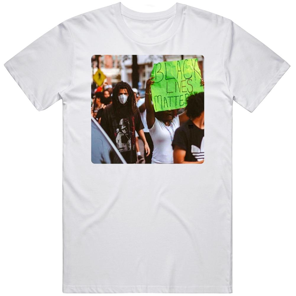 J Cole Black Lives  Matter Protest   T Shirt