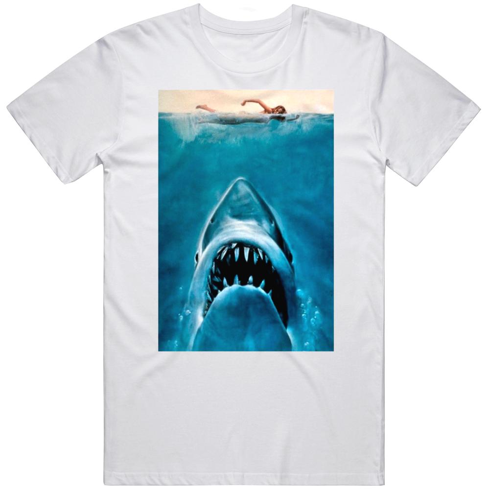 Jaws Cult Horror Movie Retro Fan T Shirt