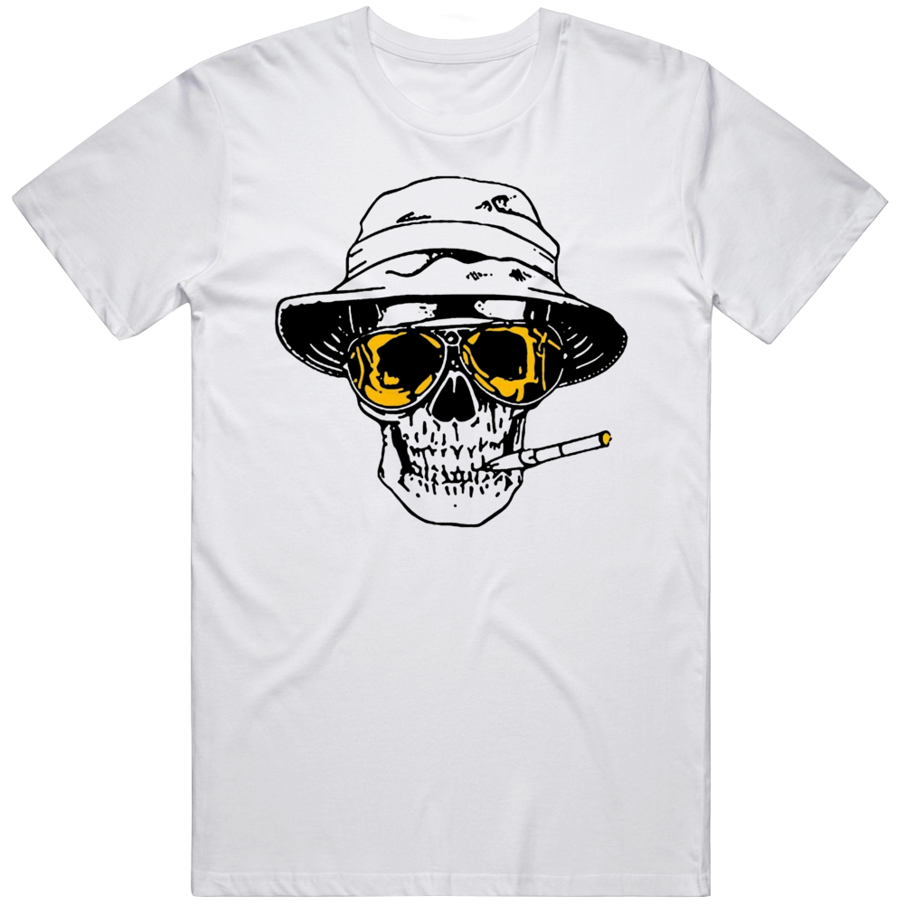 Hunter Thompson Too Weird To Live Rare Die Fear Loathing Las Vegas Gonzo Retro  T Shirt