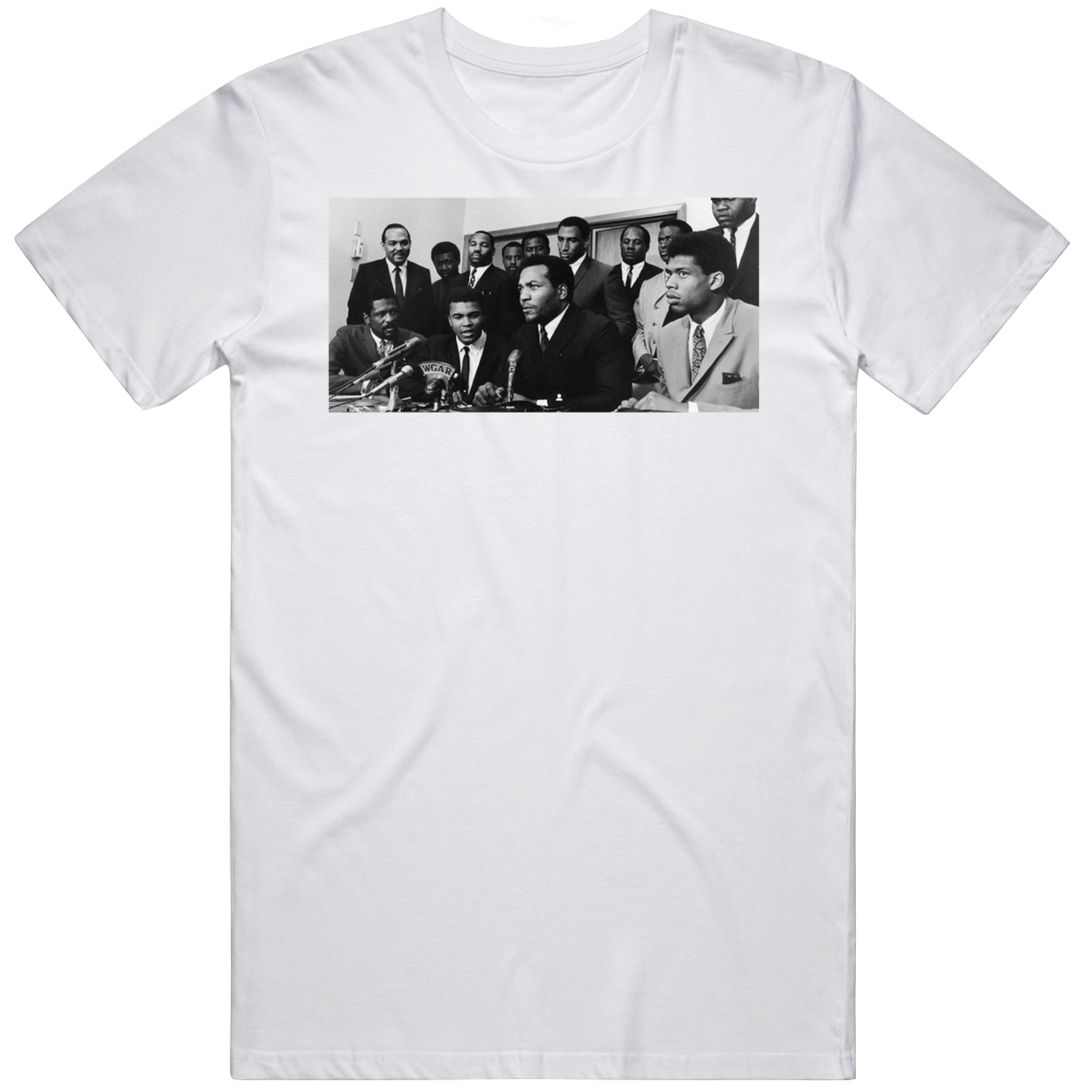 Jim Brown Muhammad Ali Kareem Abdul Jabar Bill Russell  Black Lives Matter Movement   T Shirt