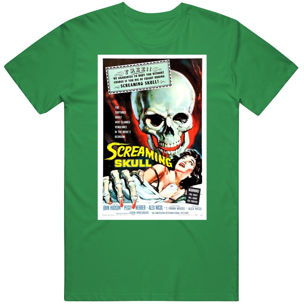 The Screaming Skull Horror 1958  Film Movie  V3 T Shirt