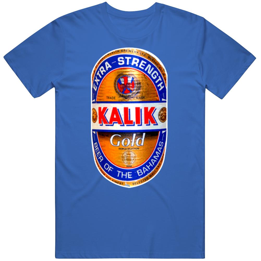 Kalik Gold Beer Bahamas Lager T Shirt