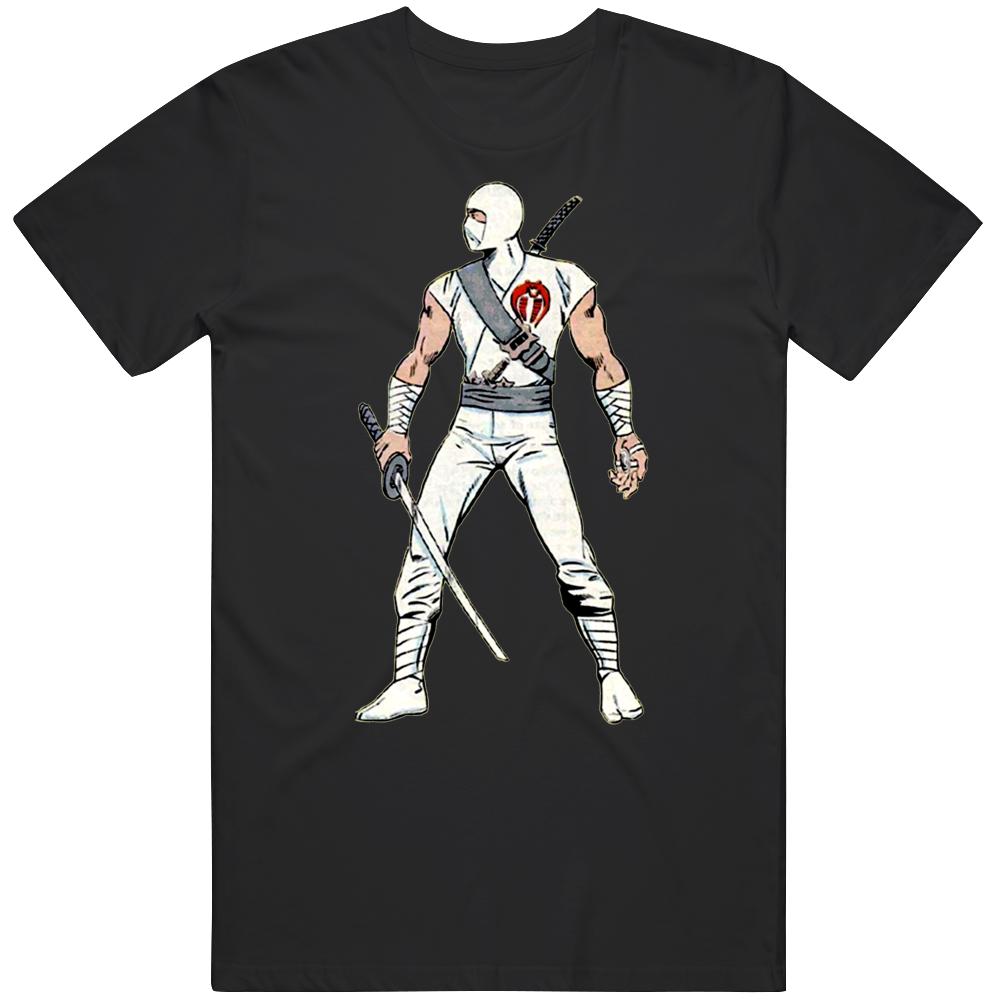 Storm Shadow GI Joe Retro Cartoon 80's Fan  T Shirt