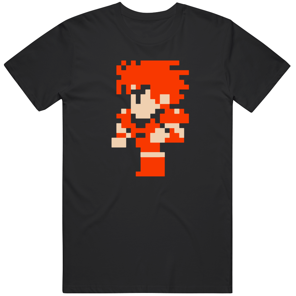 Fighter Video Game Sprite Character   T Shirt
