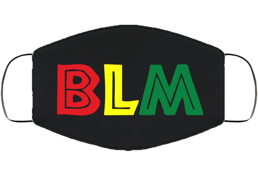 BLM Black Lives Matter Movement  Face Mask Cover