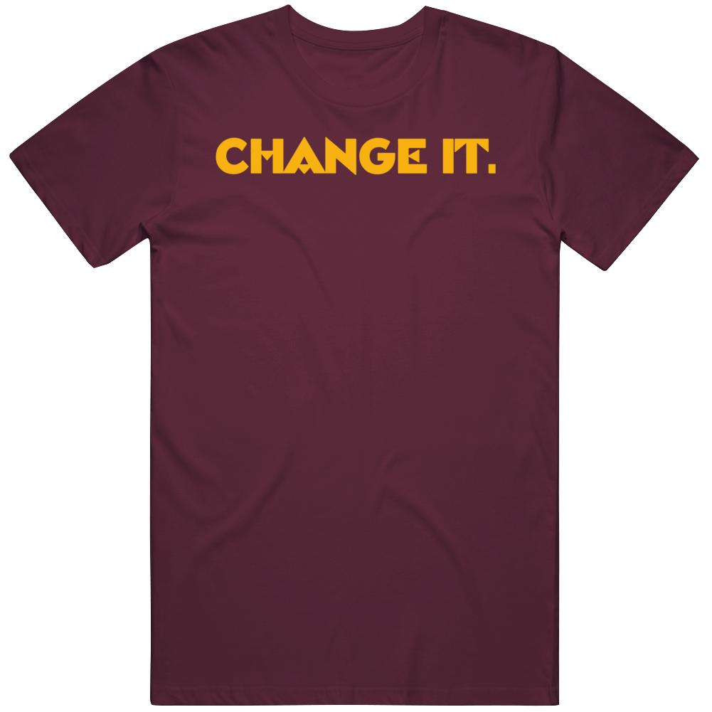 Change It Washington Football Team Logo Change v2 T Shirt
