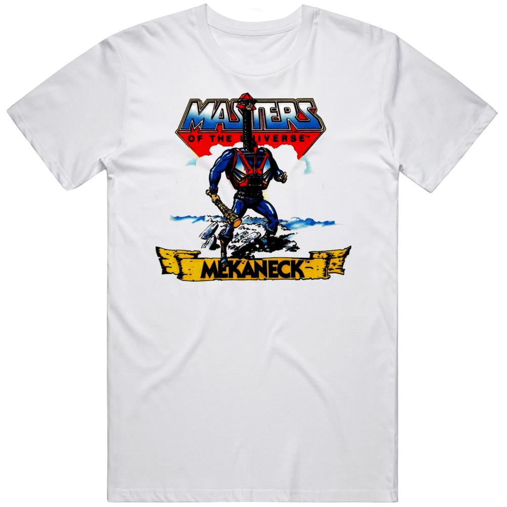 Masters of The Universe Mekanek Cartoon Fan T Shirt