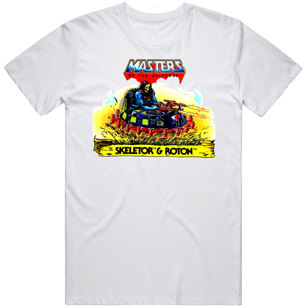 MOTU Skeletor & Roton Retro Cartoon  T Shirt