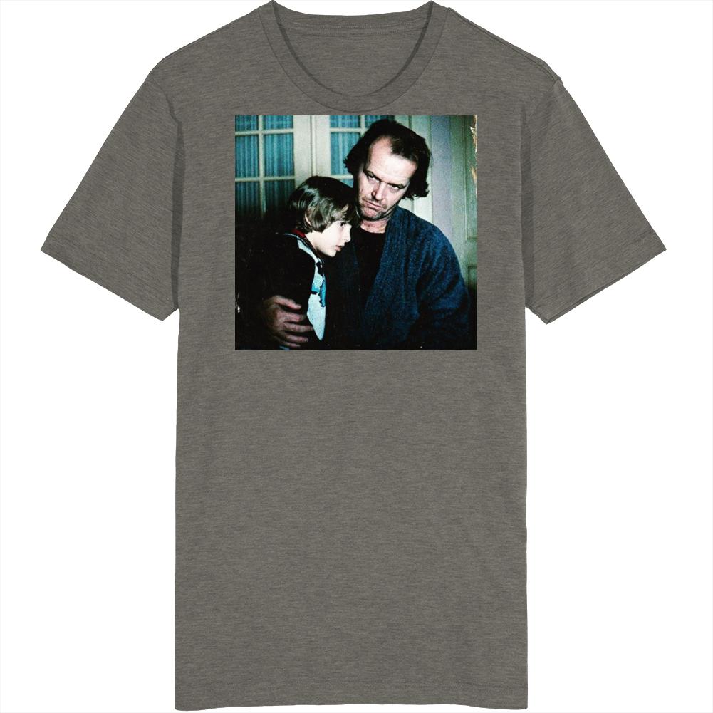 Retro Classic Horror The Shining Jack and Danny Torrance Movie Fan v2 T Shirt