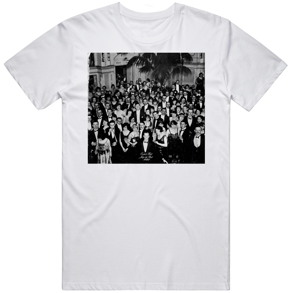 Retro Classic Horror The Shining Jack Torrance Party Picture 1921 Movie Fan V2 T Shirt