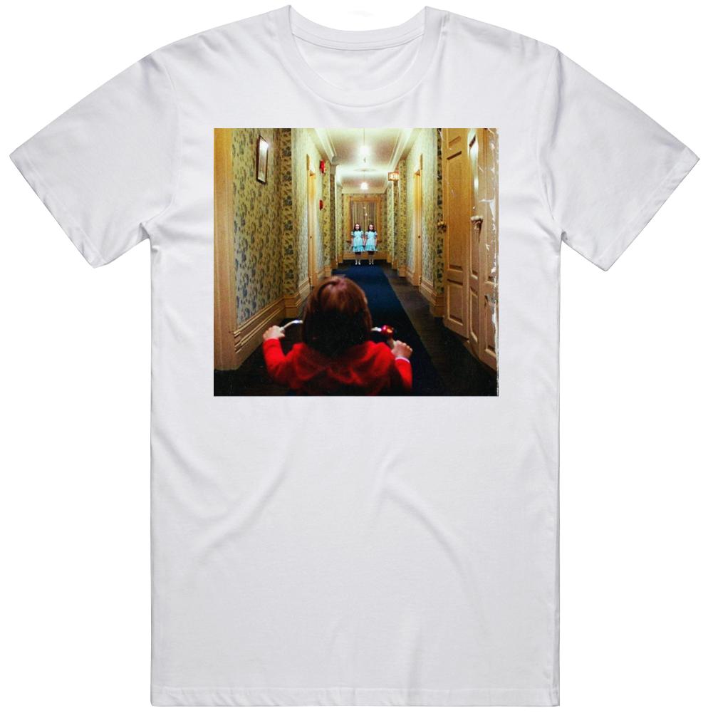 Retro Classic Horror The Shining  Danny Torrance and the Grady Twins Movie Fan  T Shirt