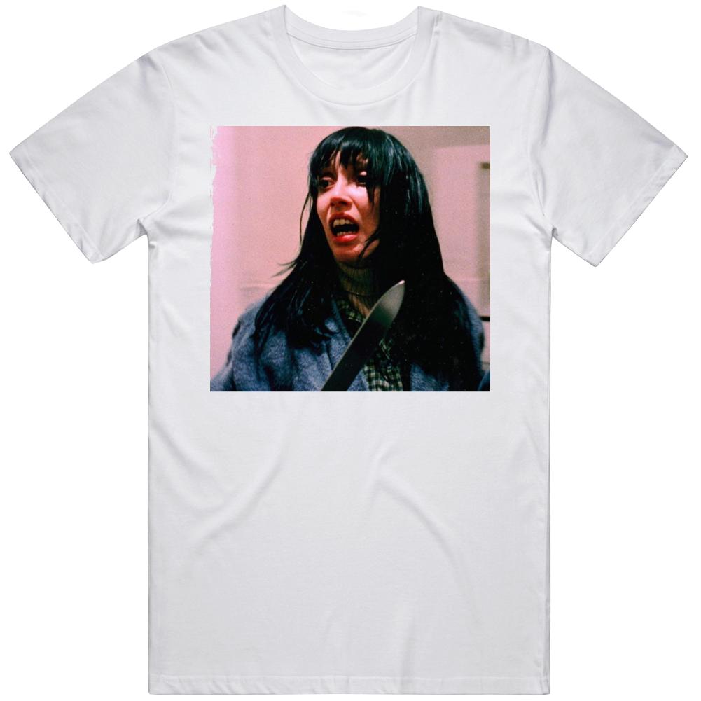 Retro Classic Horror The Shining  Wendy Torrance Movie Fan T Shirt
