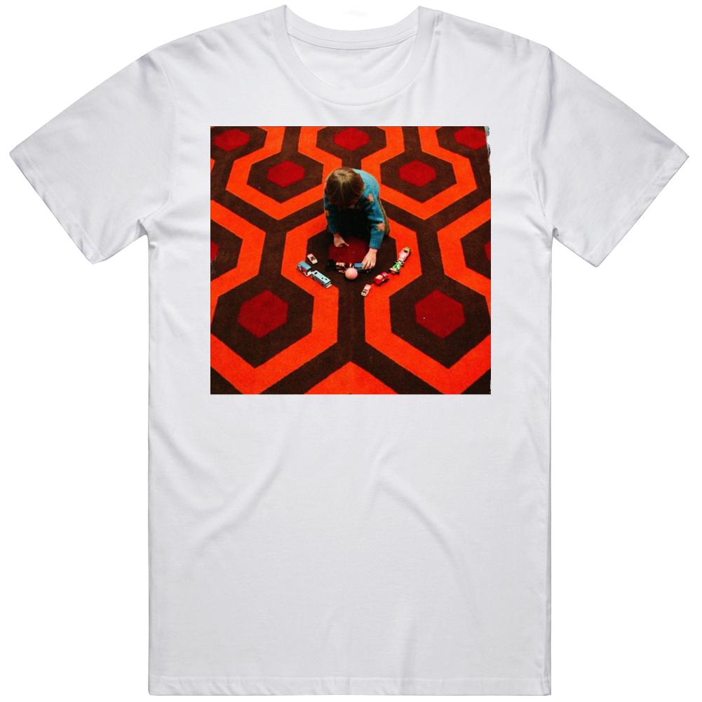 Retro Classic Horror The Shining  Danny Torrance Carpet Movie Fan T Shirt