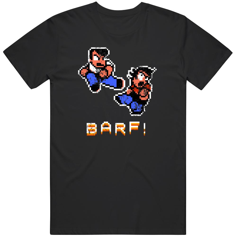 River City Ransom Barf Retro Nes Video Game Fan Distressedd T Shirt