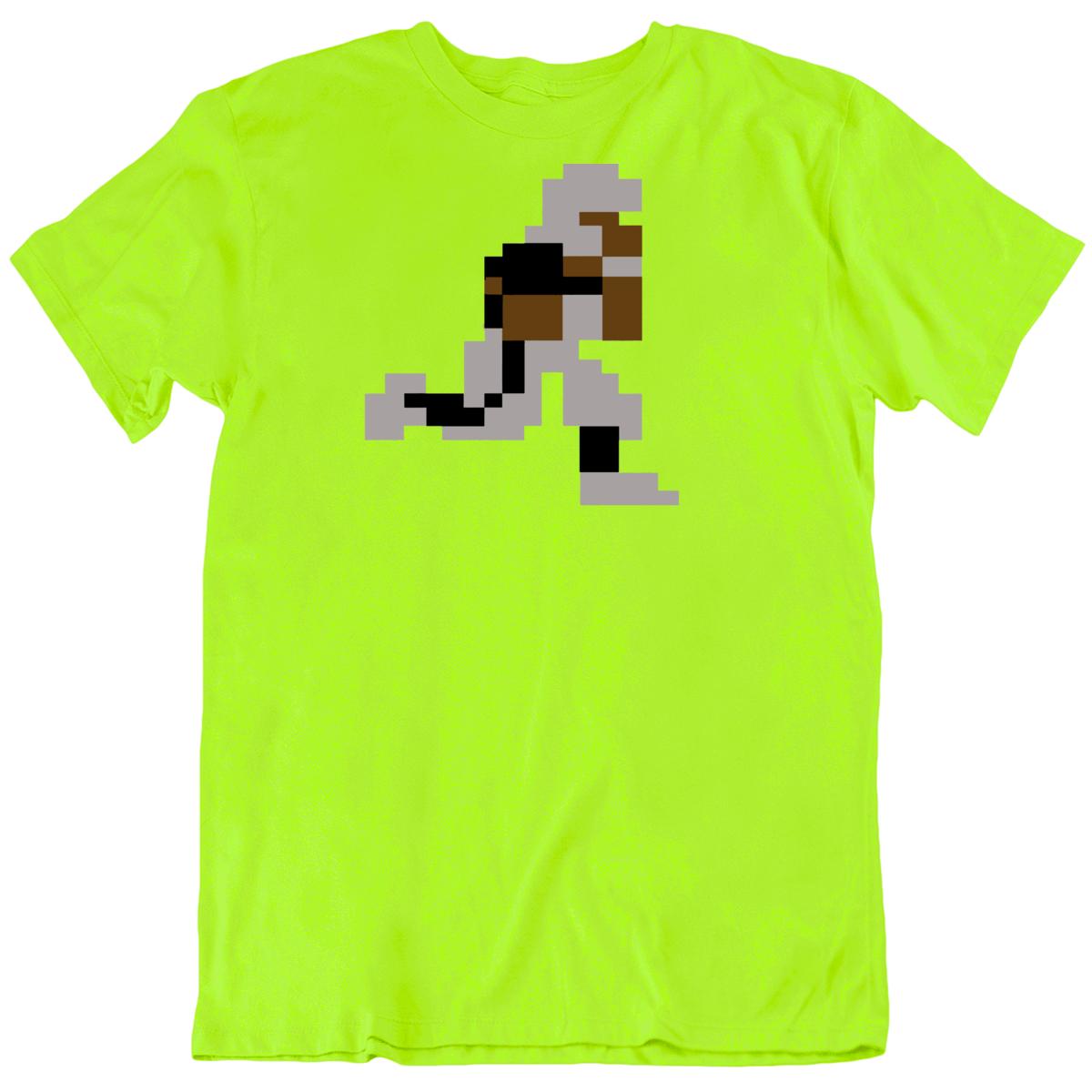 Tecmo Bowl Bo 8 Bit Sprite Retro NES Video Game  Fan T Shirt