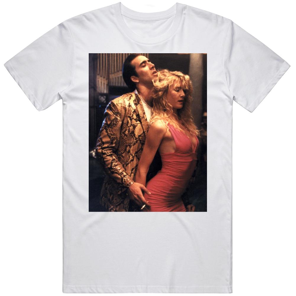 Retro Cult Classic Wild at Heart Laura Dern Nic Cage Movie Fan v2 T Shirt