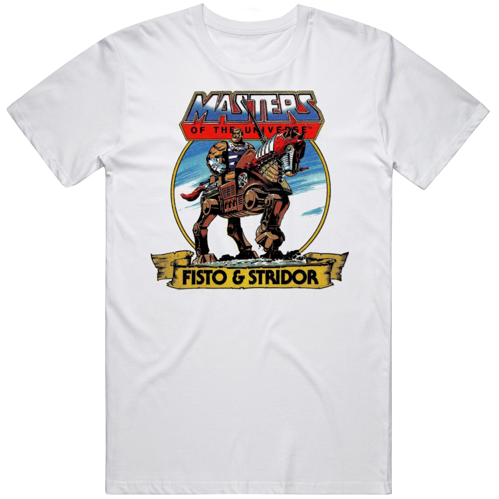 Motu Fisto And Strido Heman Cartoon Tv Show Fan  T Shirt