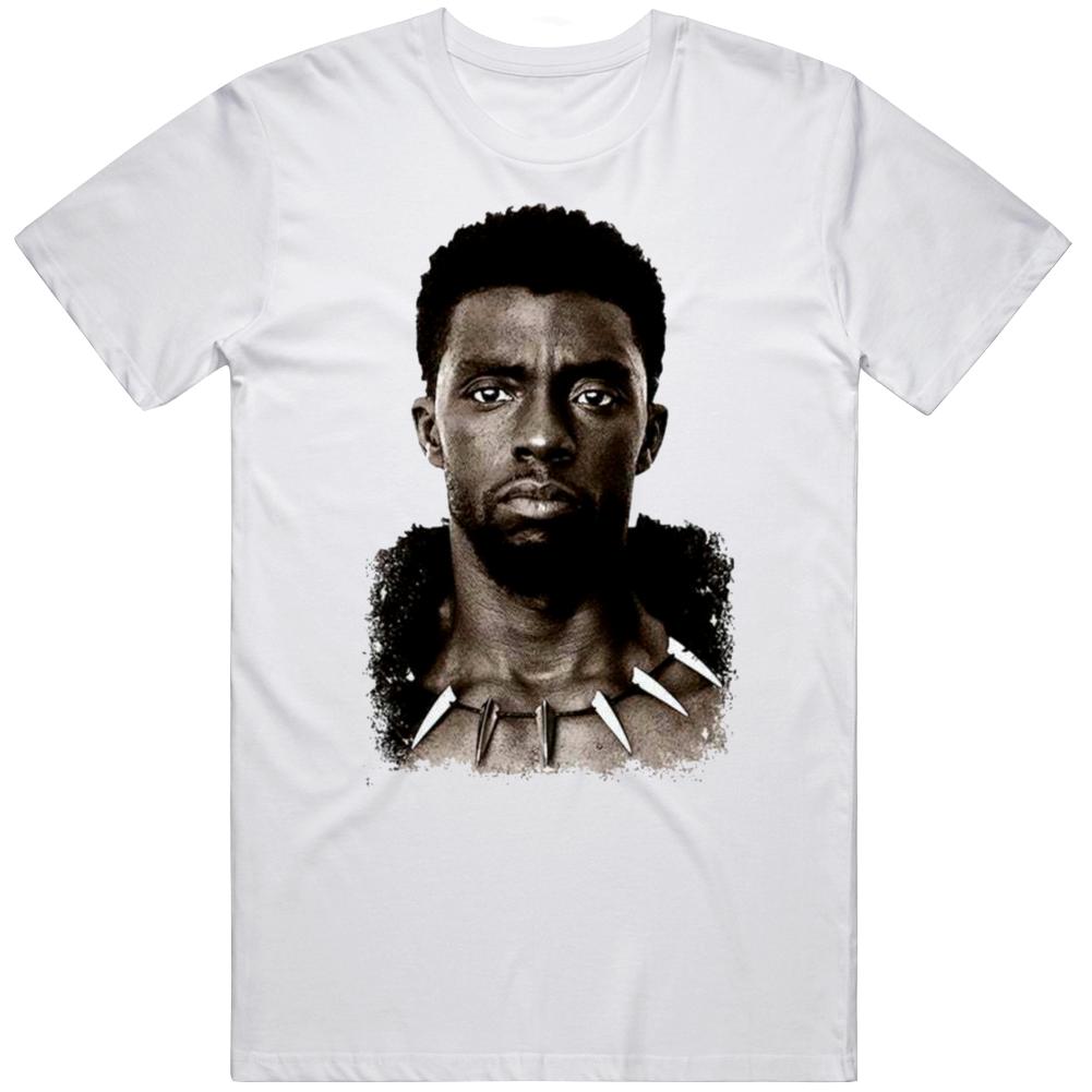 Black Panther  Chadwick Boseman Forever Tribute Fan V4  T Shirt