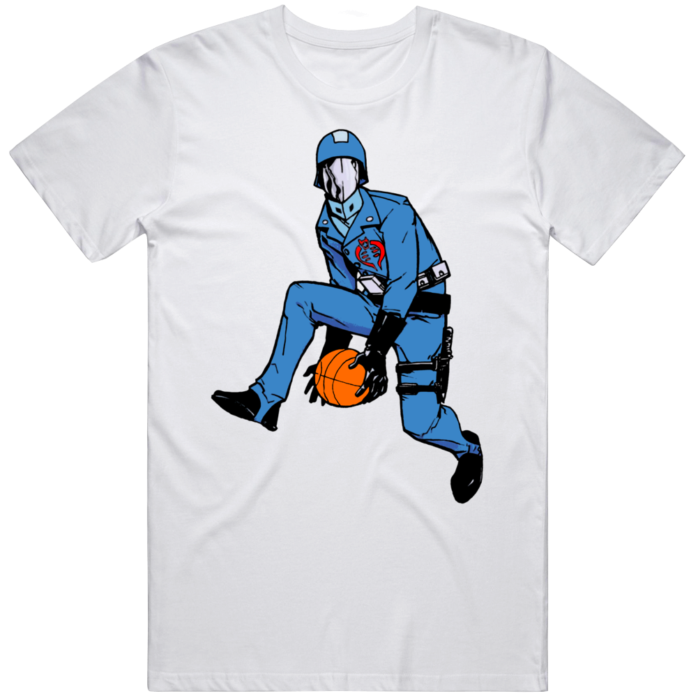 Funny Cobra Commander Between The Legs Dunk GI Joe Fan  T Shirt