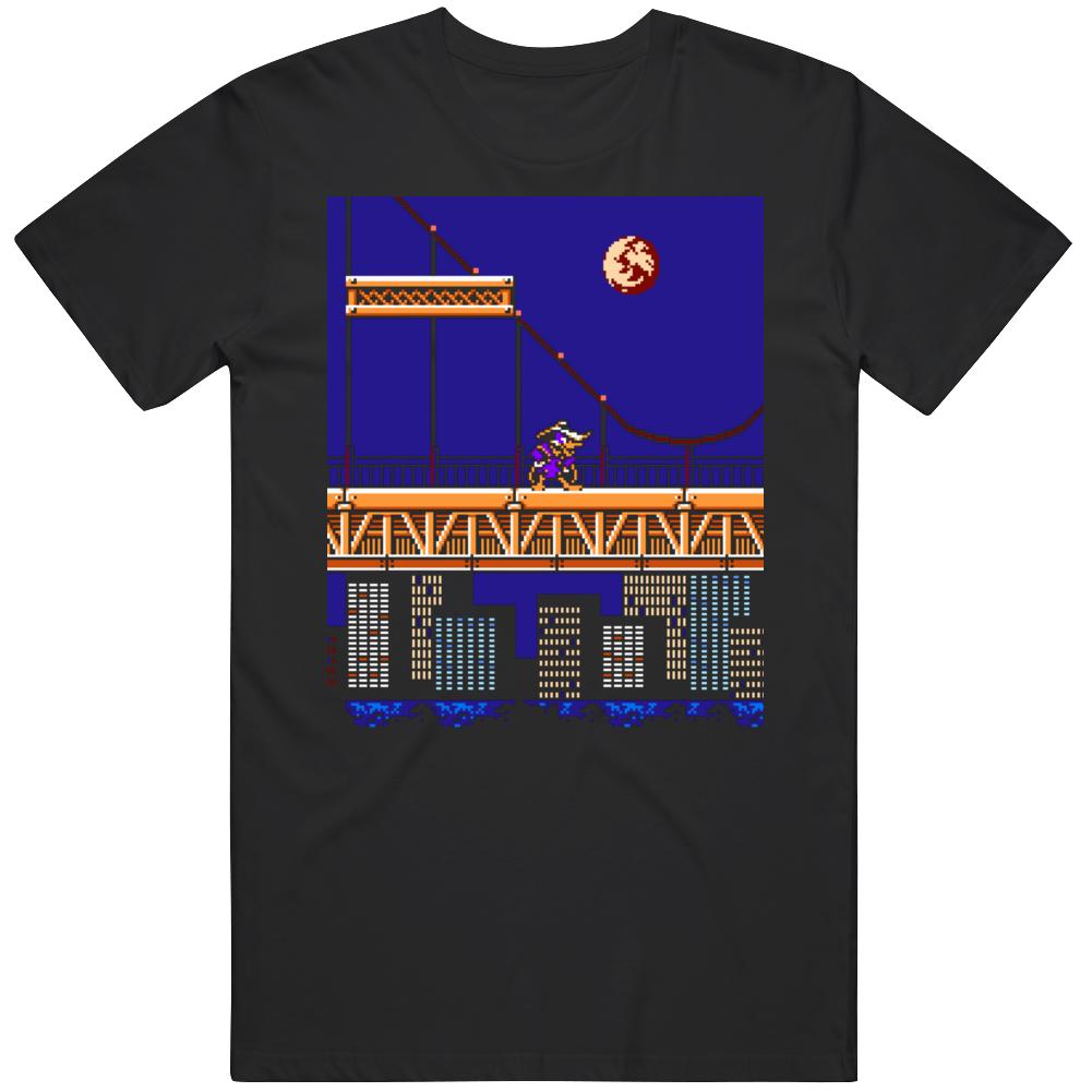 Retro Classic Video Game  Darkwing Duck Gameplay  T Shirt