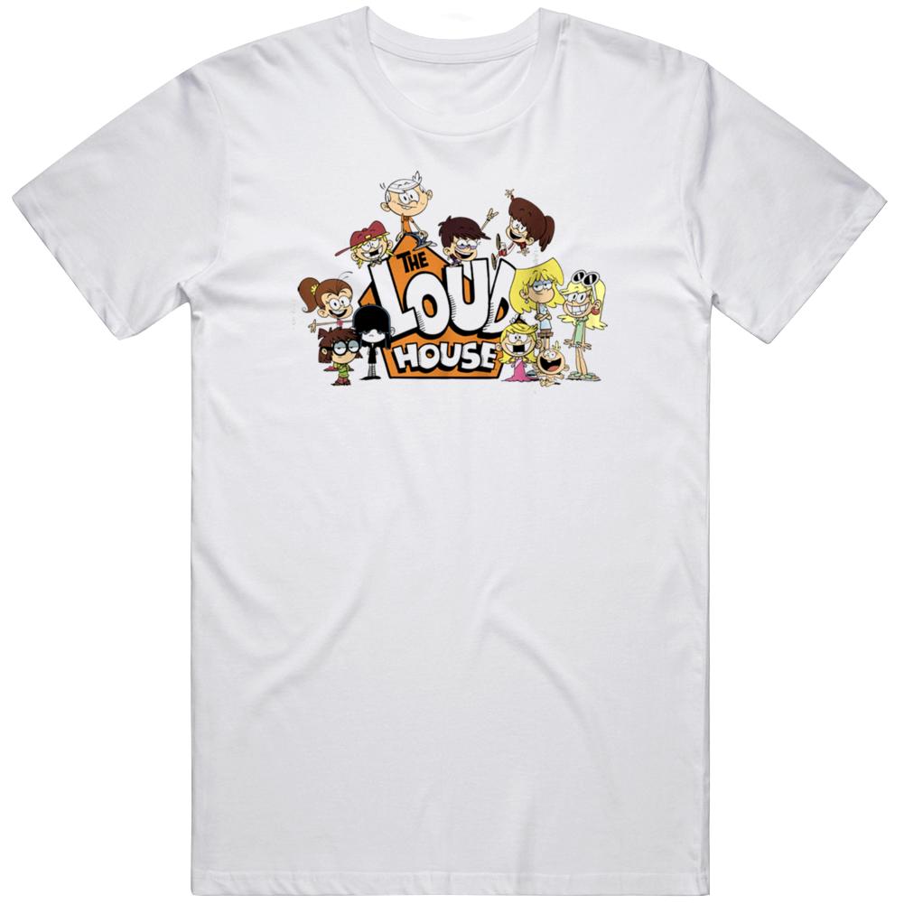 The Loud House Cool Cartoon Fan T Shirt