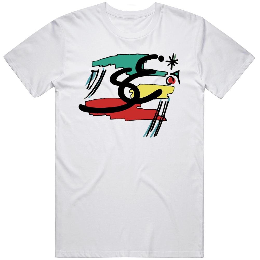 Retro Stefan Edberg Tennis Star 90 80s Tennis Fan T Shirt