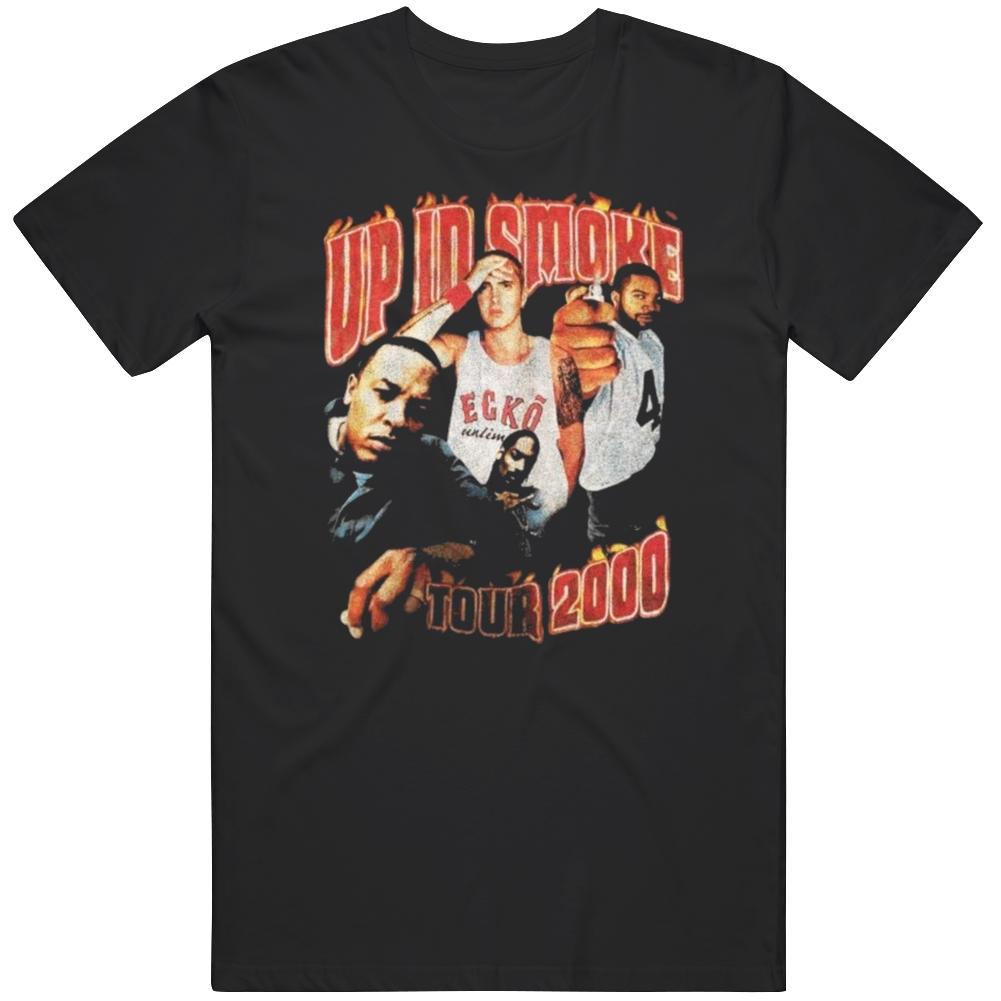 Vintage Rap Up In Smoke Tour 2000 T Shirt