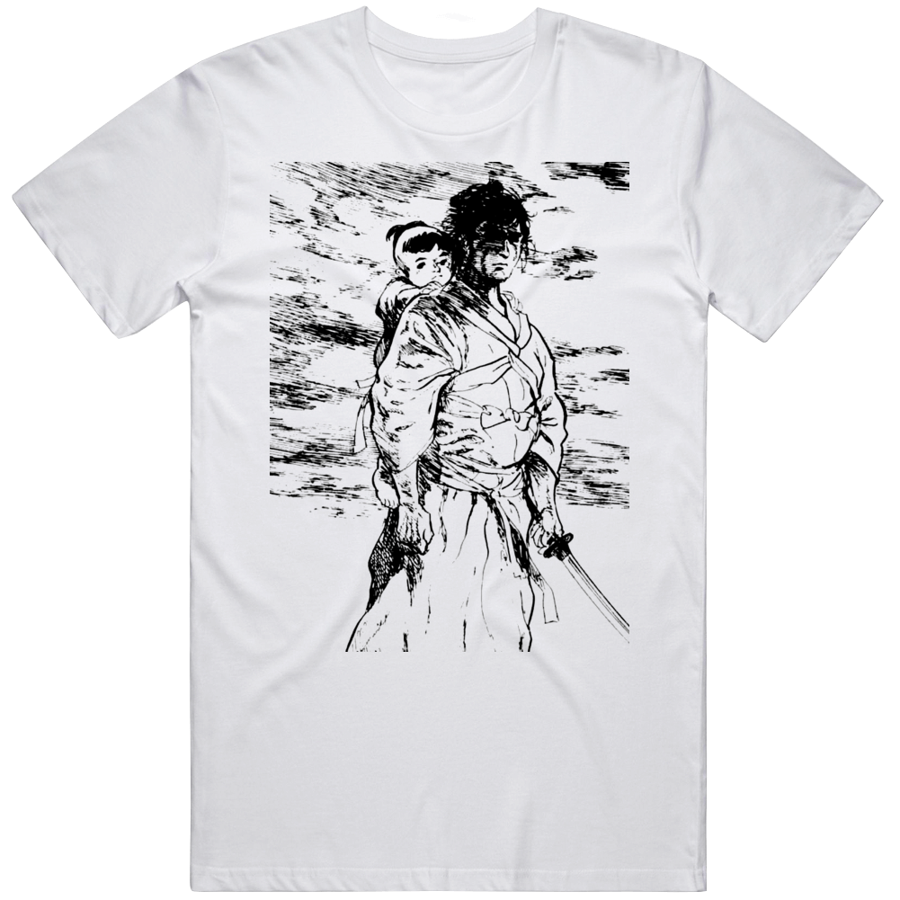 Lone Wolf and Cub Classic Manga Fan  T Shirt