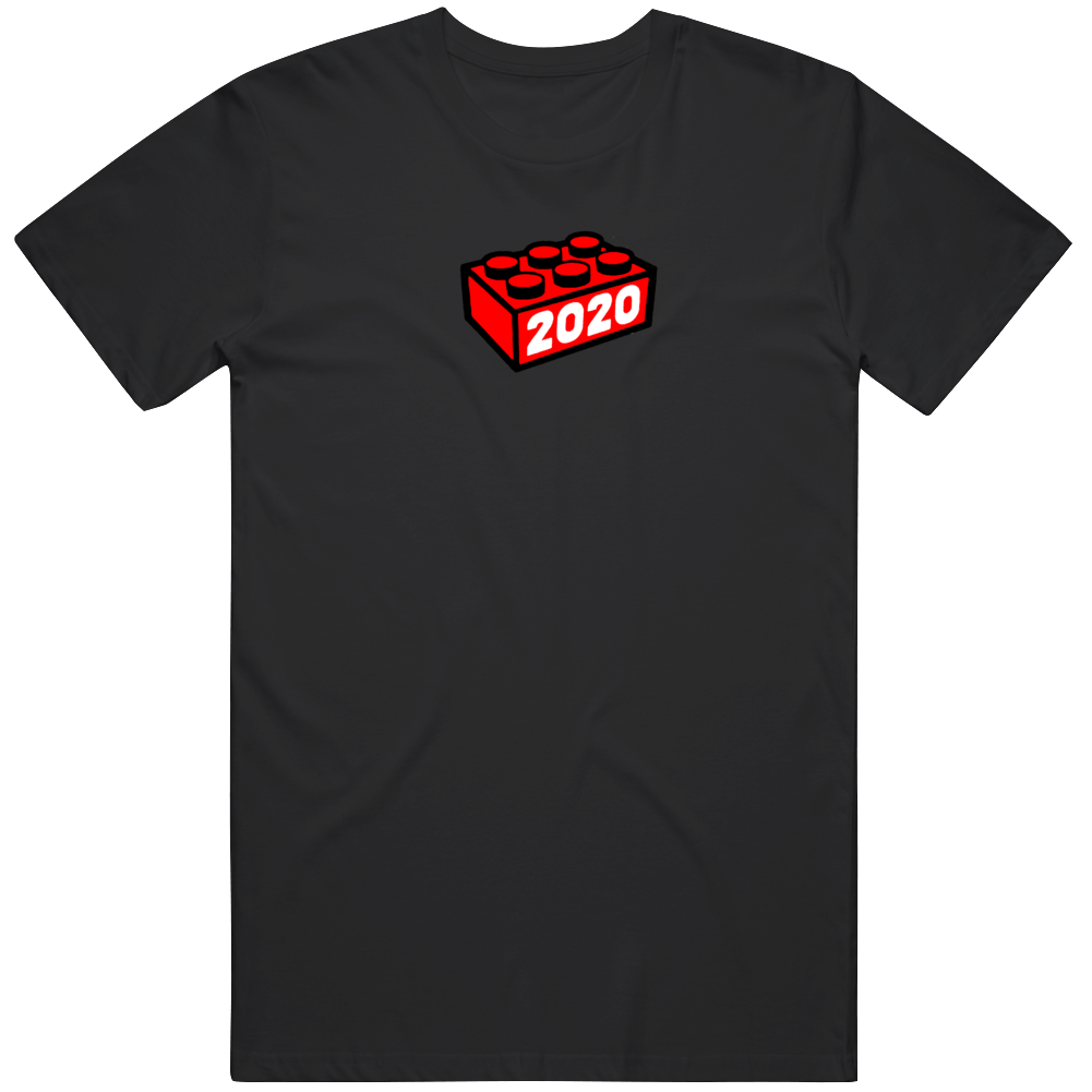 Funny 2020 Worst Year Ever As Lego Piece  T Shirt