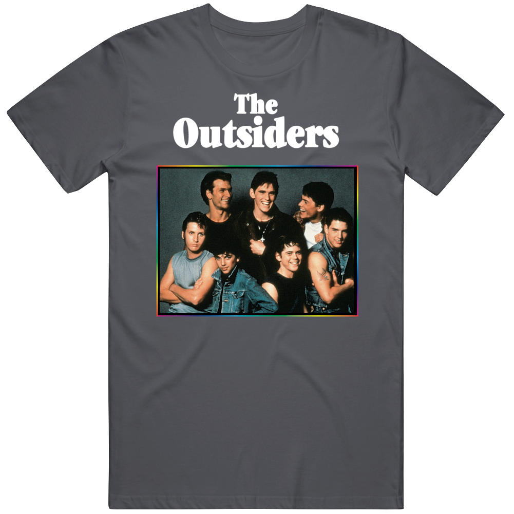 Cult Classic 80's Movie The Outsiders Movie Fan v2 T Shirt