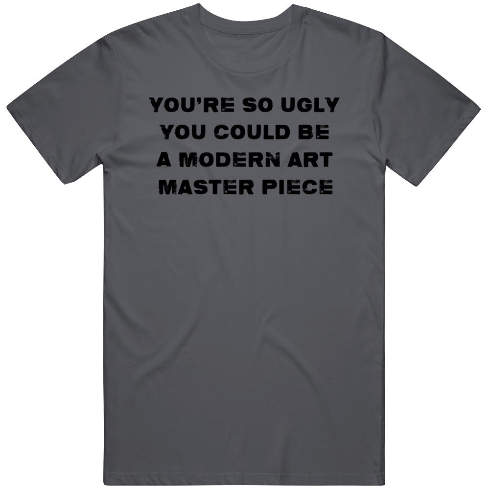 Modern Art Master Piece Quote Full Metal Jacket Movie Fan T Shirt