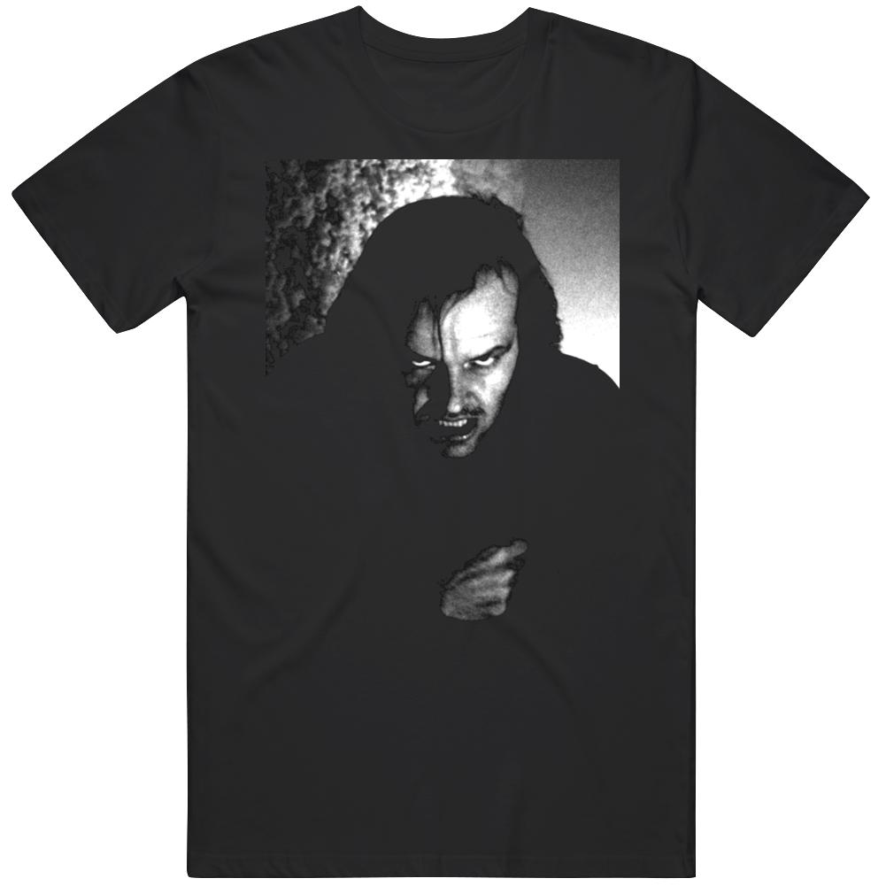 The Shining Jack Torrance Classic Horror Movie Scene Fan v5 T Shirt