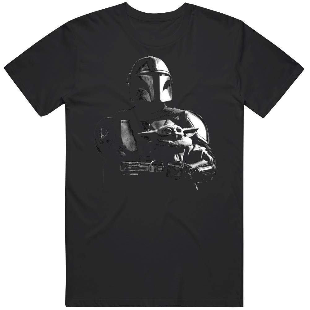 The Mandalorian and Grogu The Child Tv Show Star Wars Fan  T Shirt