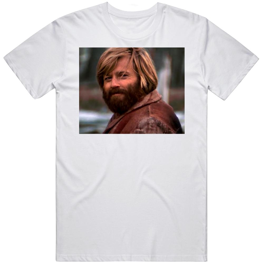 Robert Redford Jeremiah Johnson Head Nod Meme Movie Fan  T Shirt