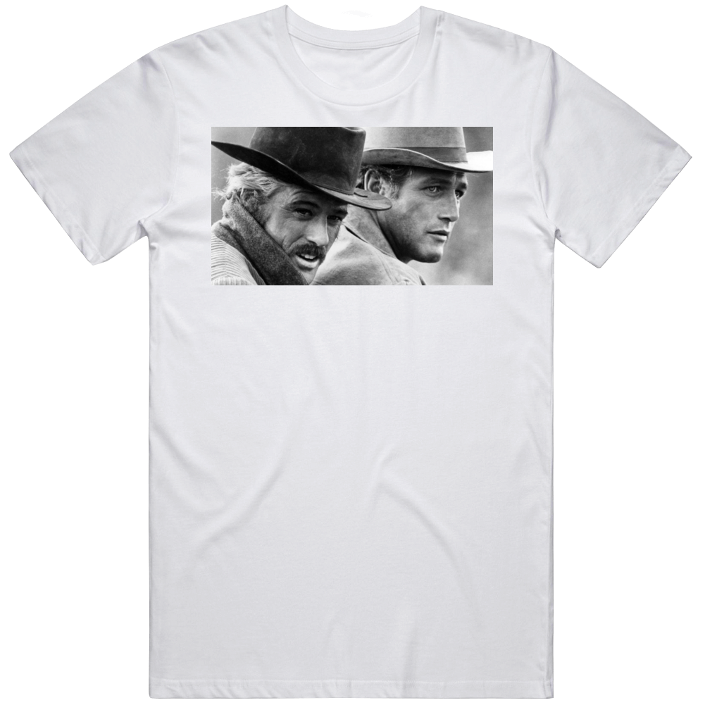 Robert Redford Butch Cassidy and The Sundance Kid  Movie Fan  T Shirt
