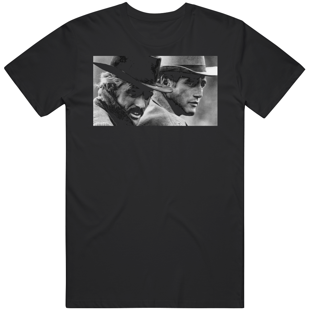 Robert Redford Butch Cassidy and The Sundance Kid  Movie Fan v2 T Shirt