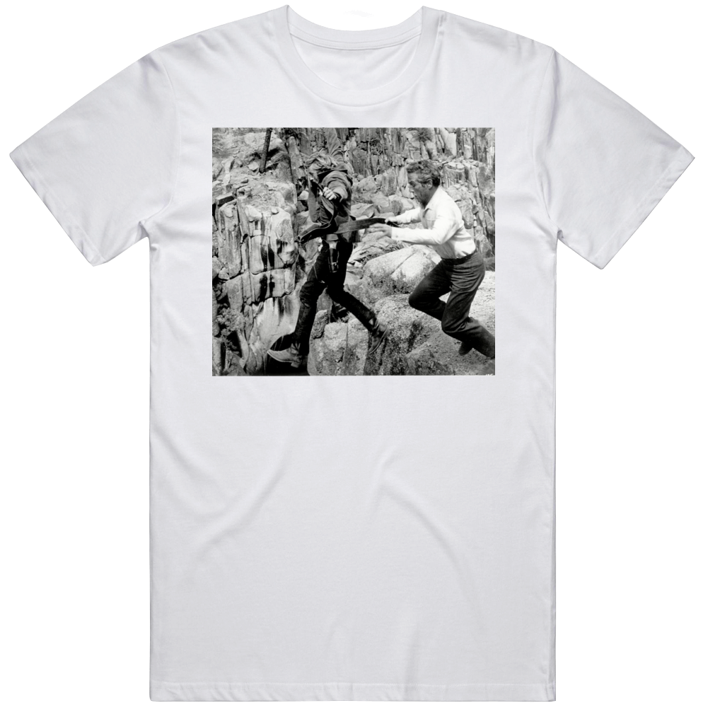 Robert Redford Butch Cassidy and The Sundance Kid JUMP Movie Fan   T Shirt