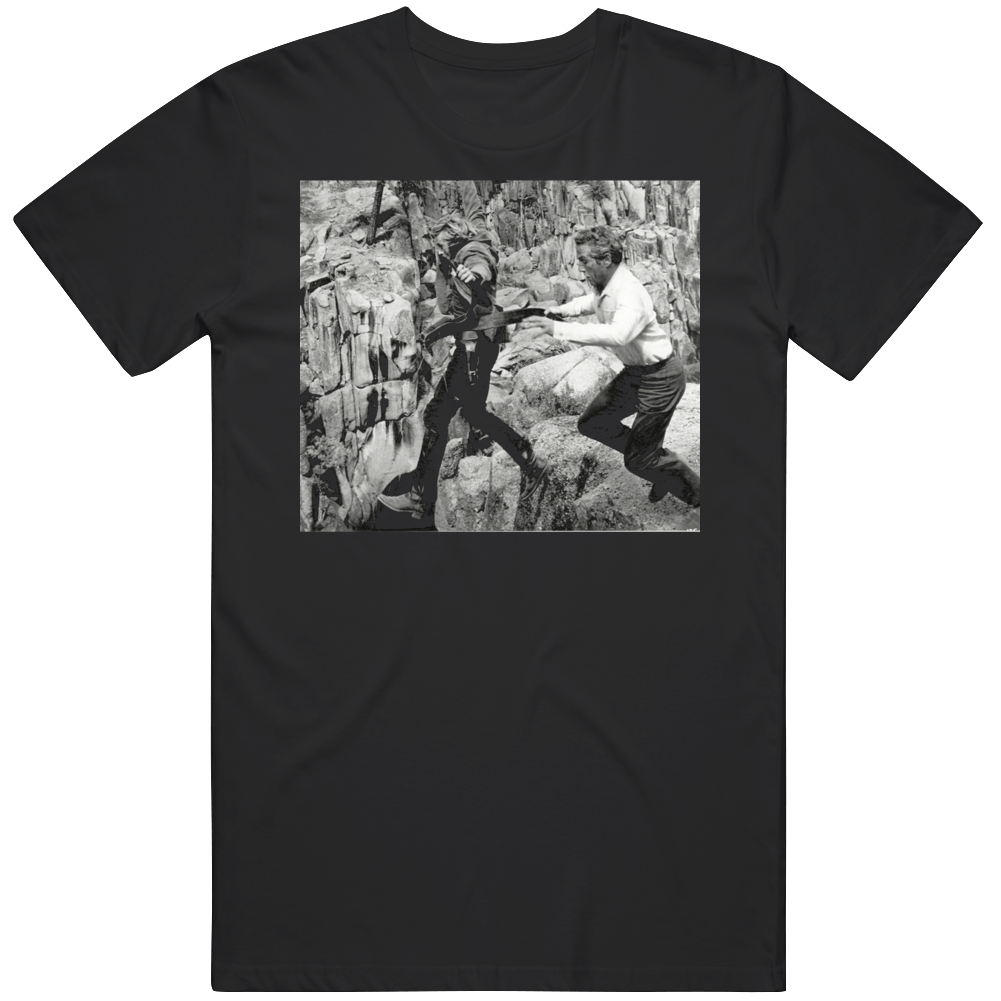 Robert Redford Butch Cassidy and The Sundance Kid JUMP Movie Fan v2 T Shirt