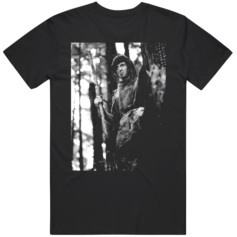 Rambo First Blood Retro Classic Movie Fan v3 T Shirt