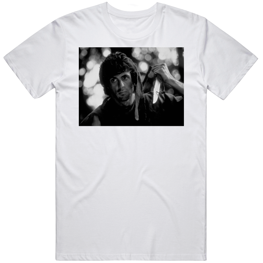 Rambo First Blood Retro Classic 80s Movie Fan v3 T Shirt