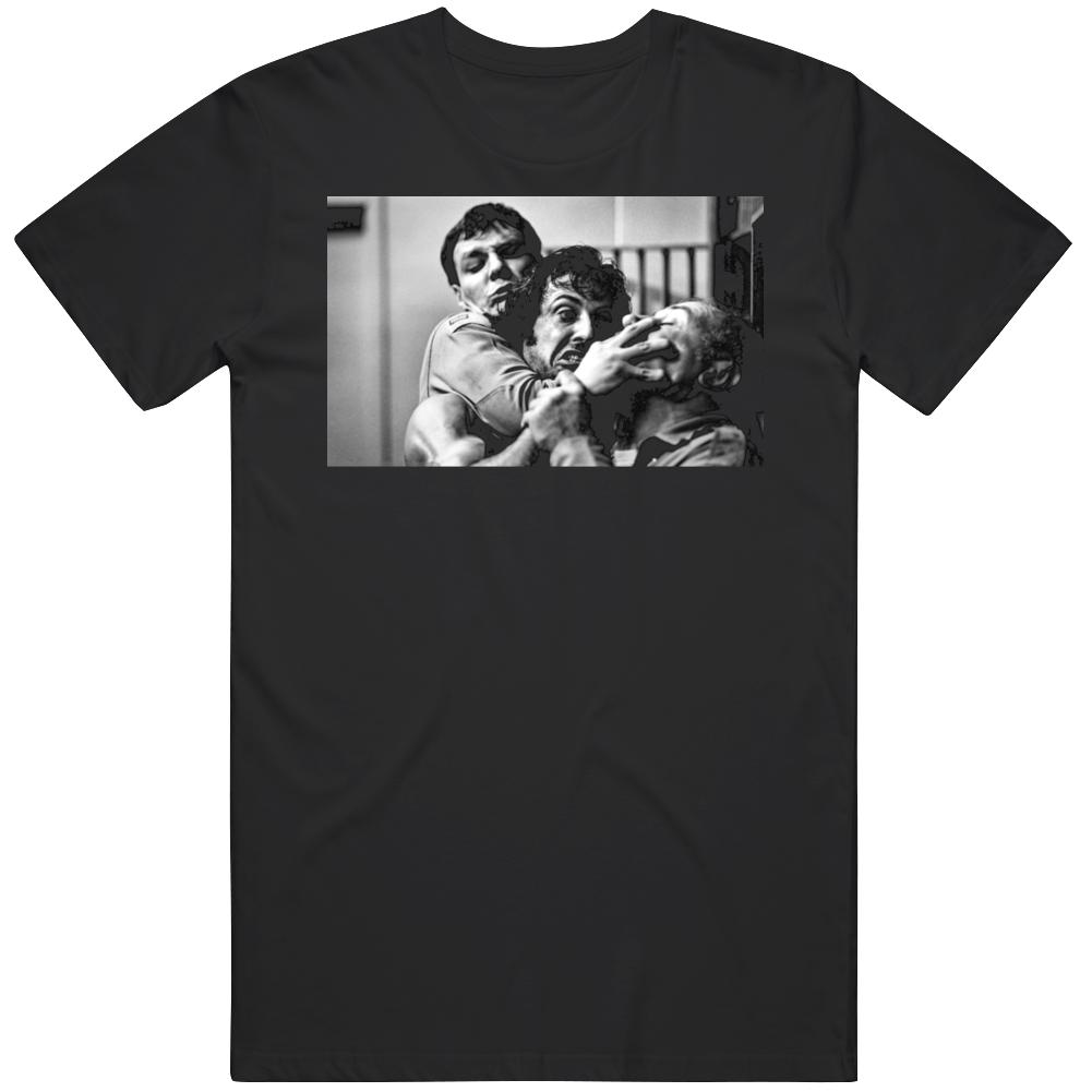 Rambo First Blood Jail Scene Retro Classic 80s Movie Fan T Shirt