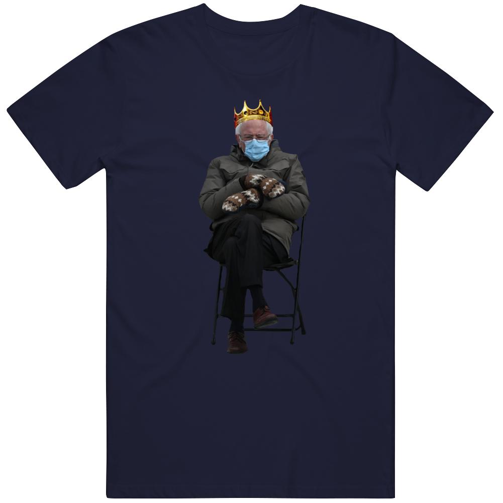 Funny Bernie Sanders Crown Mood v2 T Shirt