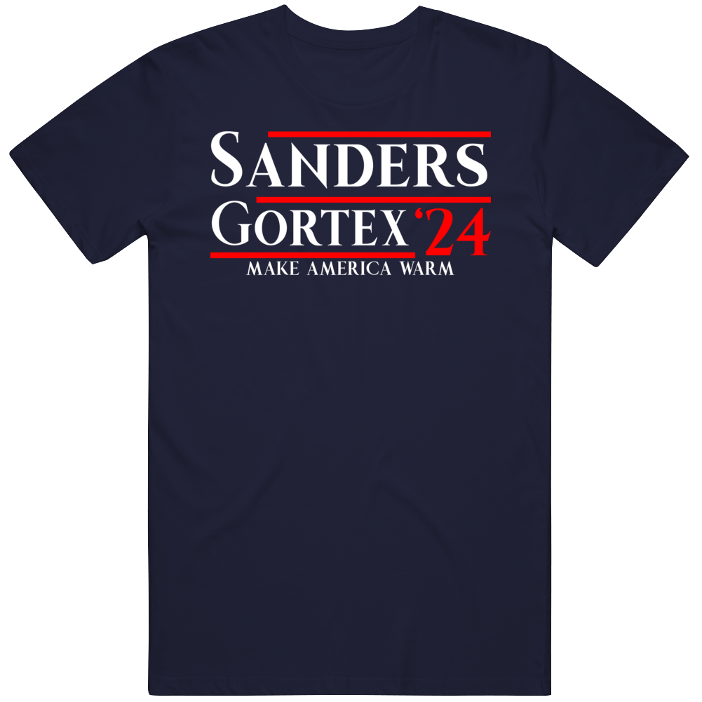 Bernie Sanders Funny Meme Make America Warm T Shirt