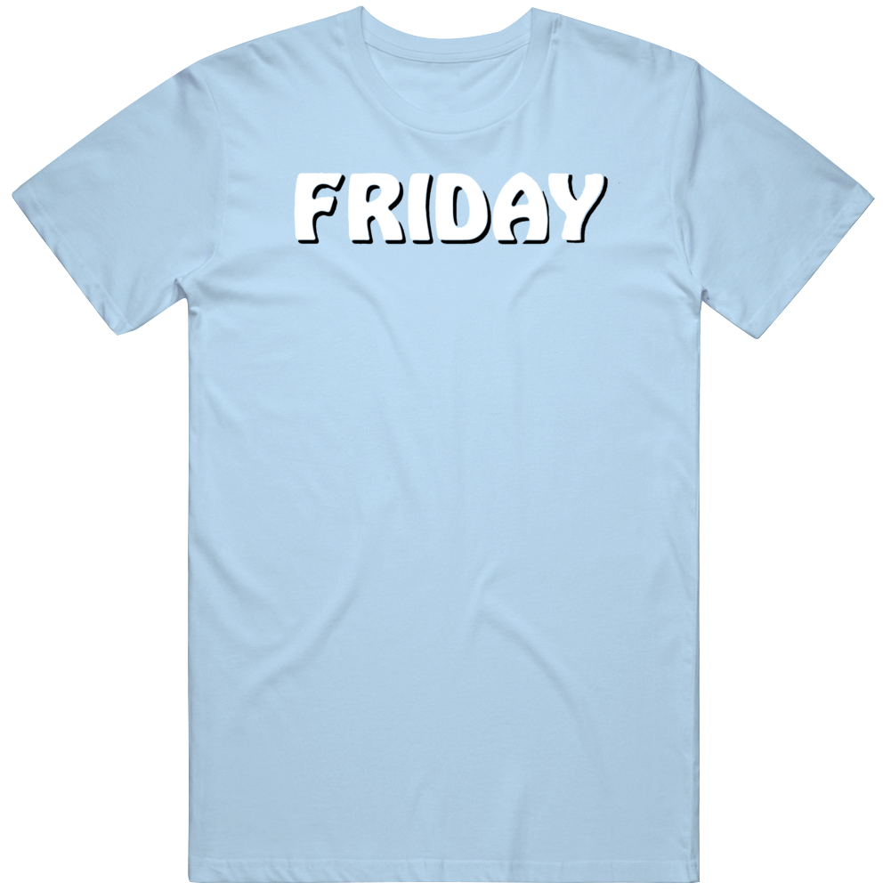 Retro Cult Classic Comedy Friday Ice Cube Opening Title Movie Fan v2 T Shirt